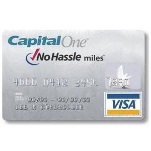 Capital One - No Hassle Miles Rewards Visa Card