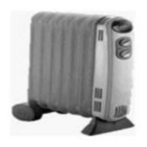 Holmes Oil-Filled Electric Radiator Heater