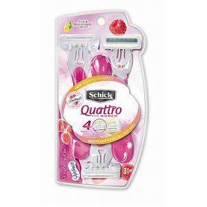 Schick Quattro Disposable Razor for Women