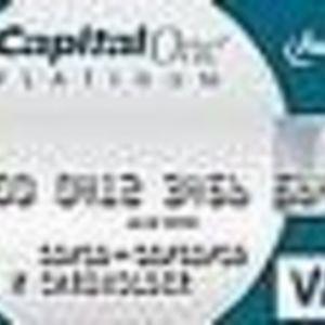 Capital One - No Hassle Cash Platinum Visa Card