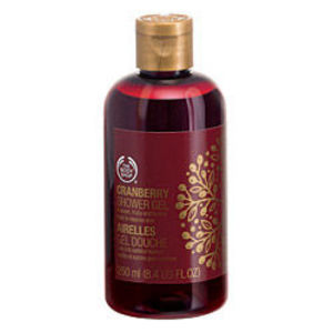 The Body Shop Cranberry Shower Gel