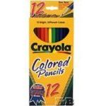 Crayola Colored Pencils (12-pack)