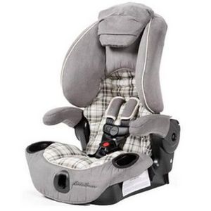 Eddie Bauer Adjustable High Back Booster Car Seat