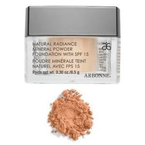 Arbonne Natural Radiance Mineral Powder Foundation Broad Spectrum SPF 15
