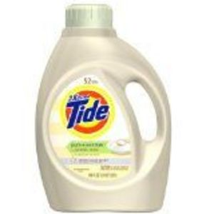 Tide Pure Essentials Baking Soda Liquid Laundry Detergent, White Lilac Scent