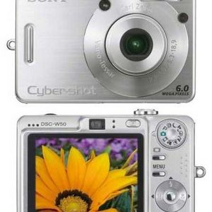 Sony - Cybershot W50 Digital Camera