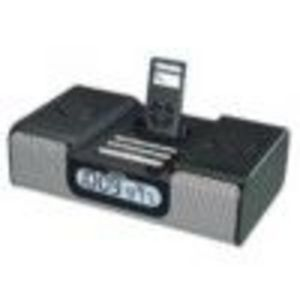 SDI - iHome Battery Charger, Docking Station, Speaker System, Clock Radio for iPod (IH5B)