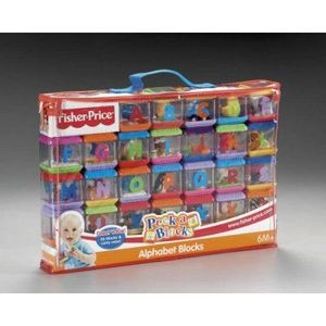 Fisher-Price Alphabet Peek-A-Blocks