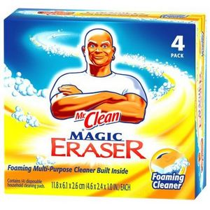 Mr. Clean Magic Eraser Foaming Cleaner, Febreze Fresh Scent Citrus & Light