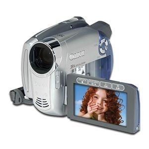 Canon - DC210 Mini DVD Camcorder