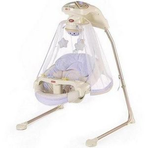 Fisher-Price Baby Papasan Cradle Swing