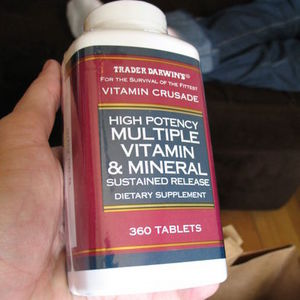 Trader Darwin's High Potency Multiple Vitamin & Mineral