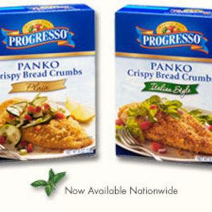 Progresso Panko bread crumbs