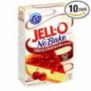 Jell-O No Bake Cherry Cheesecake