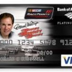 Bank of America - Nascar RacePoints Platinum Plus Visa Card