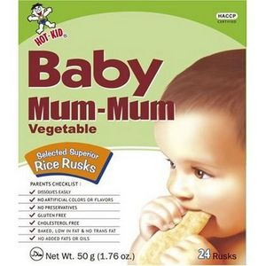 Baby Mum-Mum Rice Biscuits