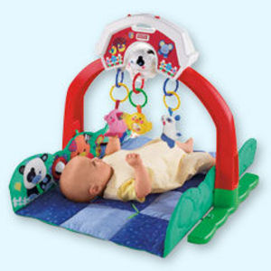 Link-A-Doos Barnyard Friends Motion/Music Gym