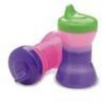 NUK Fun Grips Color Change Spill Proof Cup