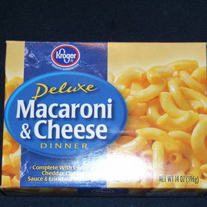 Kroger Deluxe Macaroni & Cheese Dinner