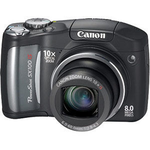 Canon - PowerShot SX100 IS Digital Camera