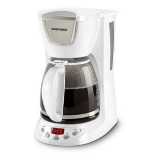 Black & Decker SmartBrew Plus 12-Cup Programmable Coffee Maker