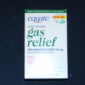 Equate Gas Relief - Extra Strength
