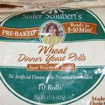 Sister Shubert's Wheat Dinner Yeast Rolls