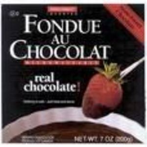 Swiss Knight Fondue Au Chocolat