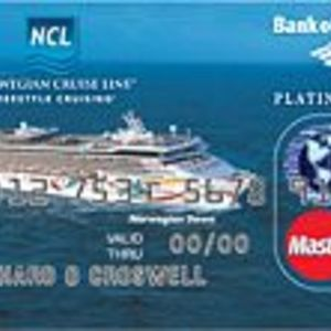 Bank of America - Norwegian Cruise Line Platinum Plus MasterCard