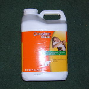 Champion Breed Cat Litter with Baking Soda