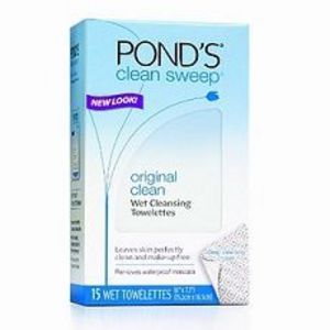 Pond's Clean Sweep Cleansing & Make Up Removing Towelettes