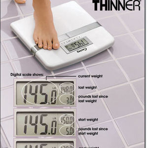 Curves Weight Tracking Digital Scale