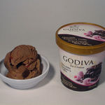 Godiva Chocolate Raspberry Truffle Ice Cream