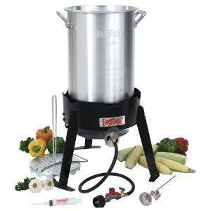 Bayou Classic 30-Quart Outdoor Turkey Fryer Kit