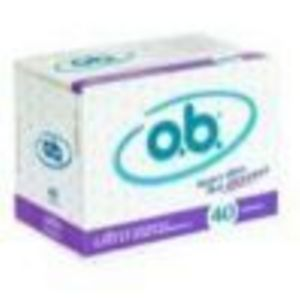 O.B. Tampons Ultra Absorbency