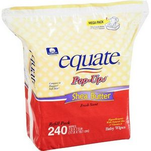Equate Baby Wipes with Shea Butter