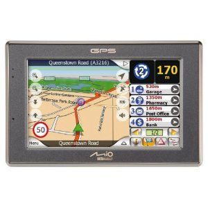 Mio C520 Bluetooth Portable GPS Navigator