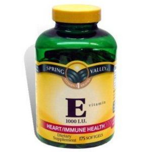 Spring Valley Vitamin E