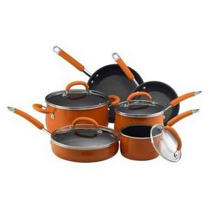 Rachael Ray Enameled Aluminum Cookware Set