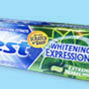 Crest Whitening Expressions Extreme Herbal Mint Toothpaste