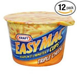 Kraft EasyMac Triple Cheese