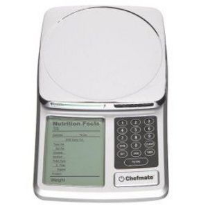 Chefmate Nutritional Digital Scale