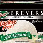 Breyers Lactose Free Vanilla