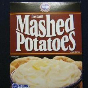 Kroger Instant Mashed Potatoes