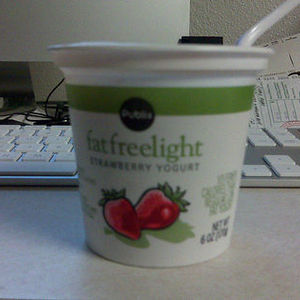 Publix Fat Free Yogurt