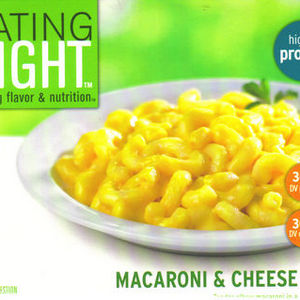 "Lucerne Foods, Inc. ""Eating Right"" Macaroni and Cheese"