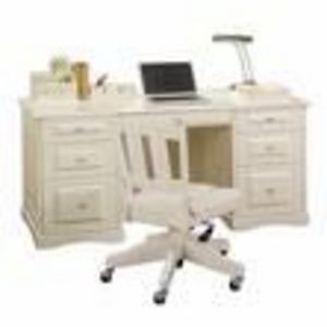 Office Depot Sandy Lane Cream Colored Computer Desk