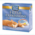 Fresh Step Lavender scent kitty litter