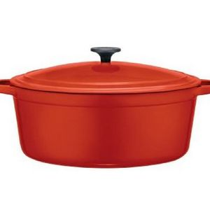 Martha Stewart 5.5-Quart Enameled Cast Iron Casserole