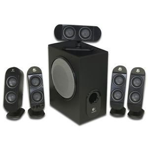 Logitech X 530 5.1-CH PC Multimedia Home Theater Speaker System